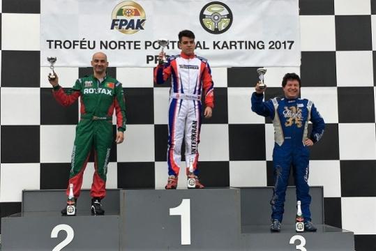 António Teixeira domina categoria DD2 na abertura do Troféu Norte Portugal 2017
