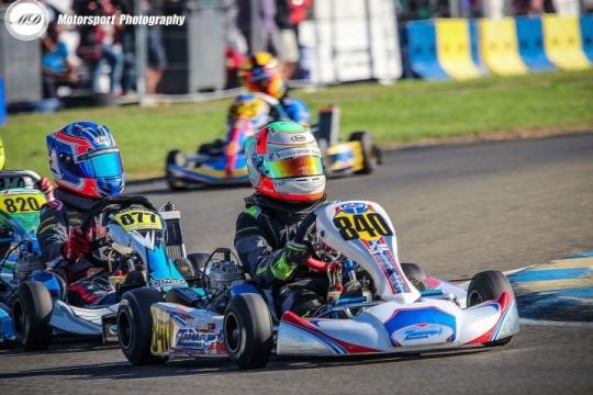 Luís Alves com estreia positiva na Final Internacional Iame em Le Mans
