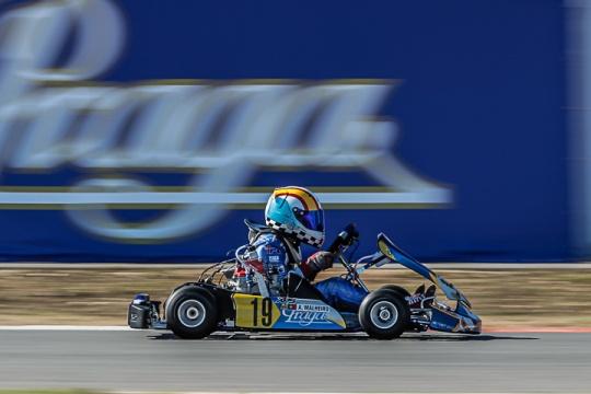 Adrian Malheiro confirma favoritismo na categoria Micro-Max do 'Mundial Rotax'