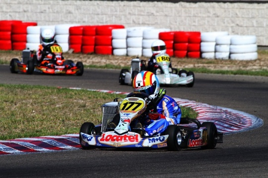Adrián Malheiro vence em Zuera e é mais líder nas Series Rotax Espanha Mini-Max