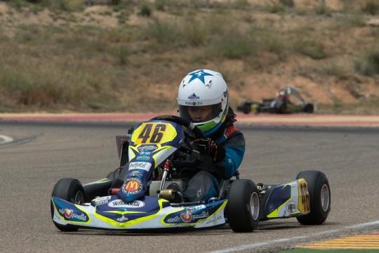 Pedro Moura mantém liderança nas Series Rotax Espanha da Academy