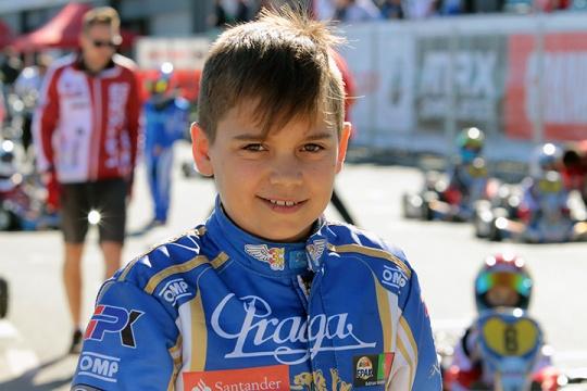 RMCGF: Adrian Malheiro na pole-position da Final da categoria Micro-Max