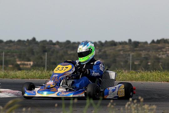 Portugueses treinaram hoje em Valência para o arranque das Series Rotax Espanha