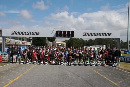 Os melhores 'cronos' da 1.ª prova do Campeonato de Portugal de Karting