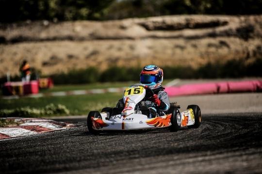 CEK Recas: Luka Fedorenko vai partir do 12.º lugar na Corrida 1 da categoria Alevín
