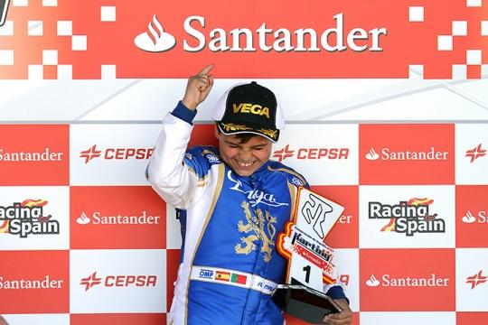 Adrian Malheiro vence na categoria Alevín para o Campeonato de Espanha