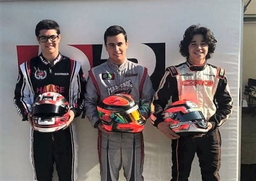 Ponte, Ferreira e Ventura apurados para a Final da 1ª prova do Europeu X30 Sénior