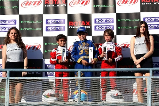 Adrian Malheiro vence Micro-Max em Alcañiz para as Series Rotax Espanha