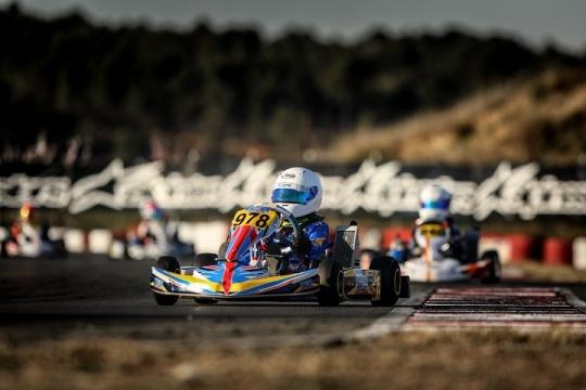 Maria Germano Neto no 16.º lugar dos 'cronos' da X30 Mini na Winter Cup 2019