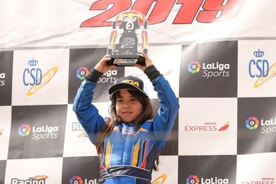 CEK Valência: Maria Germano Neto garante terceiro lugar na categoria Alevín