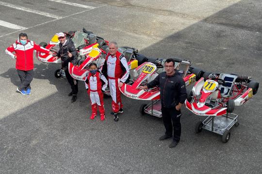 Campeão belga Fabio Kieltyka vai disputar o Rotax Max Challenge Portugal em 2021