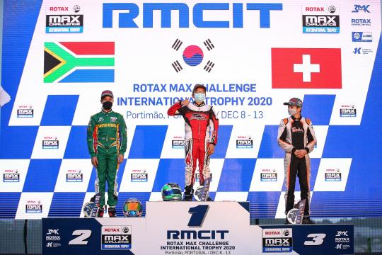 Kim Junho vence Final B da categoria Júnior no Rotax International Trophy em Portimão