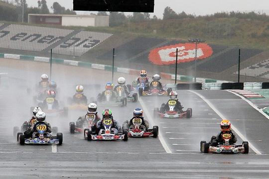 Os vencedores em Portimão do 1º dia do Campeonato Nacional de Karting