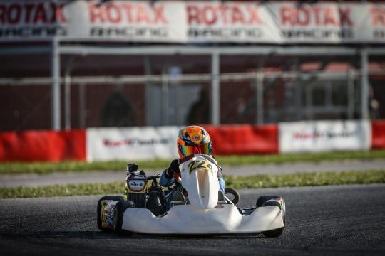João Dinis e Guillermo Pernía vão ter de recuperar amanhã na Rotax Winter Cup Júnior