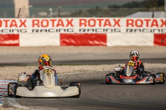 Dinis vai à repescagem e Pernía apura-se para as Finais da Rotax Winter Cup Júnior
