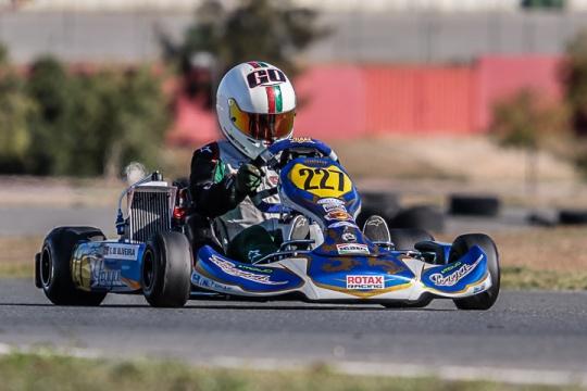 Guilherme de Oliveira 13º na categoria Júnior do 'Mundial Rotax' em Portimão