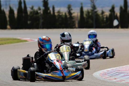 José Barros 11º na Mini-Max… Miguel Corsino estreou-se nas Series Rotax Espanha