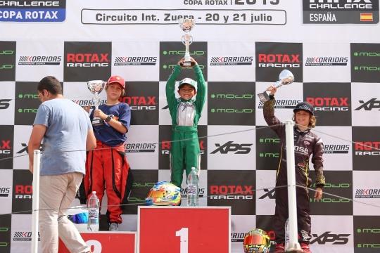 Noah Monteiro garante pódio na Copa Rotax Micro-Max
