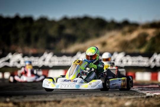 Pedro Perino a 0,515s da pole-position na categoria Júnior da Winter Cup 2019