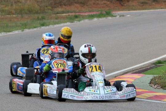 Juniores portugueses sem sorte em Motorland para as Series Rotax Espanha