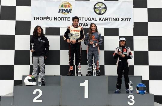 António Correia domina categoria Júnior no arranque do Troféu Norte de Portugal