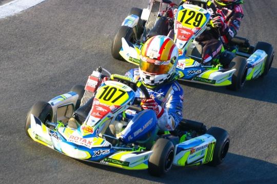 Adrián Malheiro 9.º classificado na Pré-Final do Mundial Rotax Mini-Max em Itália