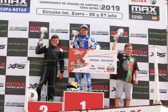 Adrián Malheiro vence Copa Rotax Mini-Max... e vai ao Mundial
