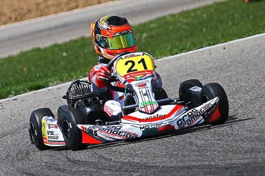 Ivan Domingues garante 4º lugar no Campeonato de Espanha Cadete