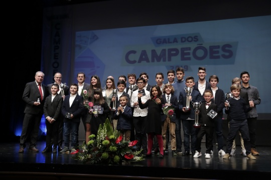 Vencedores da Taça de Portugal de Karting 2019 distinguidos em Leiria