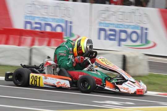 RMCGF: Bruno Borlido 26º classificado no Mundial Rotax da categoria Sénior Max