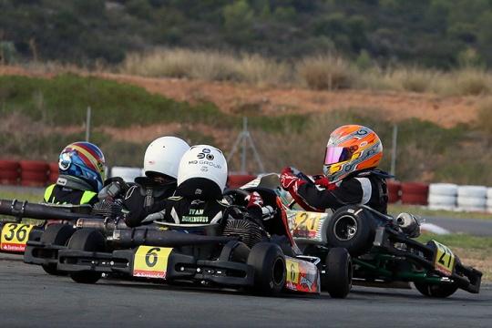 Rapidez de Ivan Domingues no Campeonato de Espanha travada por incidentes