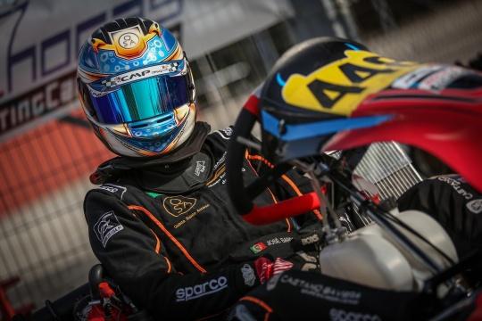 José Barros garante positivo 13.º lugar nos 'cronos' da Rotax Winter Cup DD2