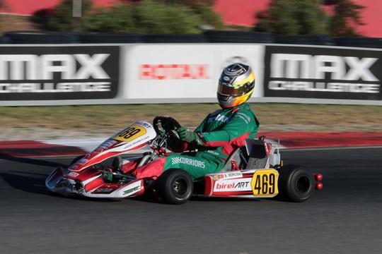 Bruno Borlido forçado a abandonar na Final do Mundial Rotax da categoria DD2