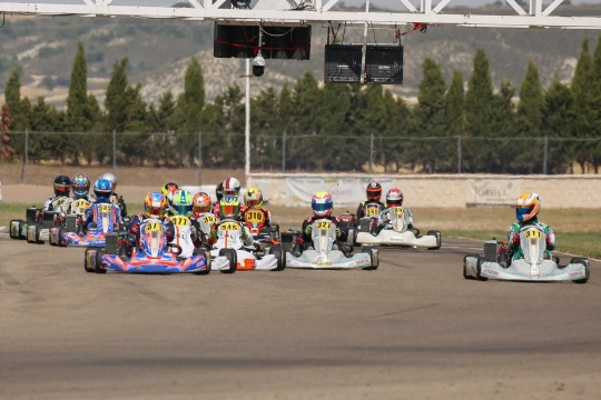 Gabriel Caçoilo 7.º classificado na Copa Rotax Sénior Max