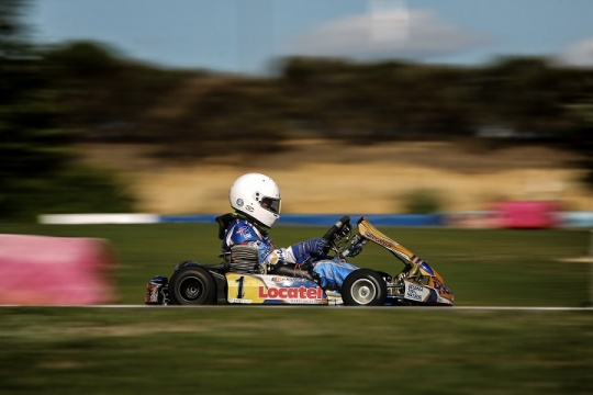 CEK Recas: Adrián Malheiro garante pole-position para a Corrida 1 da Cadete