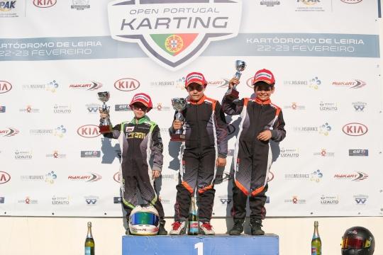 Afonso Silva domina Open de Portugal de Karting na nova categoria Cadete 4T
