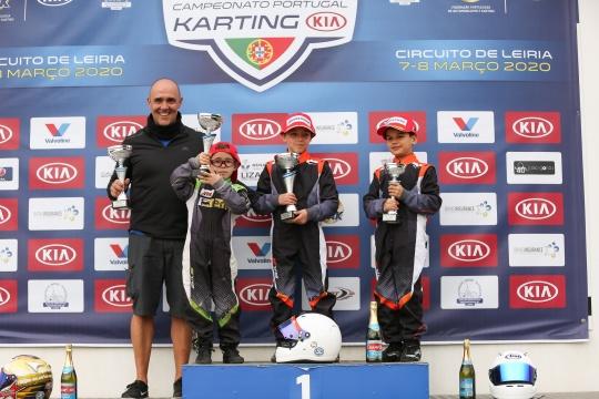 Martim Meneses entra a vencer no Campeonato de Portugal de Karting na Cadete 4T