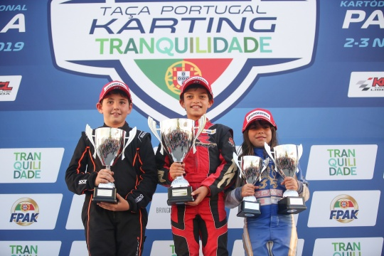 Tiago Lima domina Final da Taça de Portugal de Karting na categoria Cadete