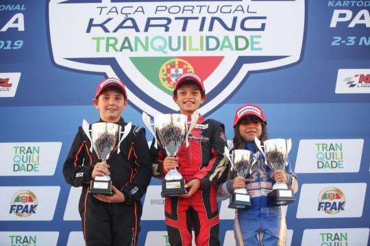 Tiago Lima domina Final da Taça de Portugal de Karting na categoria Cadete