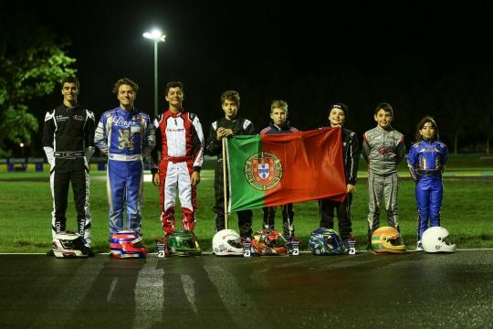 Os oito portugueses no Mundial de Karting Iame no Circuito Internacional de Le Mans