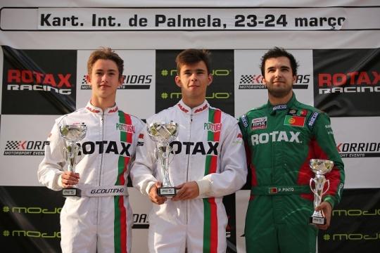 Pires triunfa na DD2 e Oliveira na Master para o Troféu Rotax em Palmela