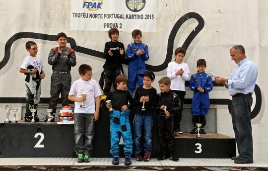 Troféu Norte de Portugal prosseguiu no Kartódromo Internacional de Braga