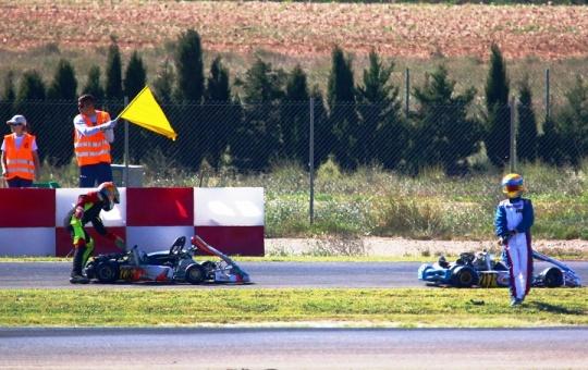 Coutinho no top-10 da categoria Júnior em Zuera… Gusmão sofre aparatoso acidente