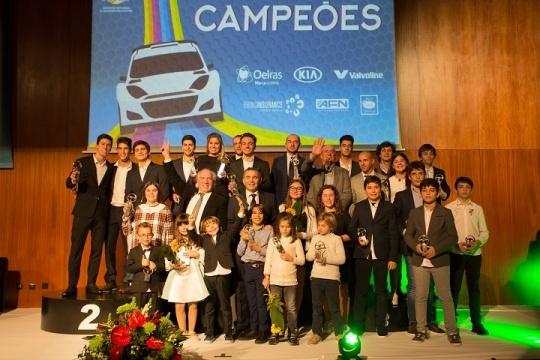 Pilotos de Karting com forte presença na Gala dos Campeões FPAK em Oeiras