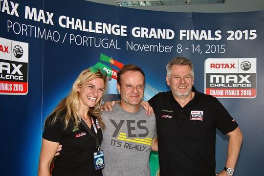 RMCGF 2015: Rubens Barrichello chegou hoje… e não vem só para participar!