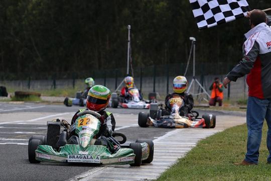 José João Oliveira colheu os louros na categoria Júnior… e é o novo líder