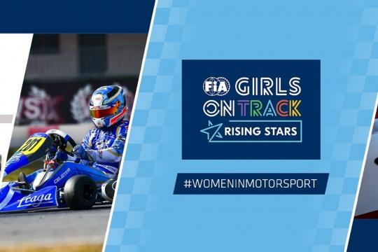 Matilde Ferreira e Mariana Machado no 'The Girls On Track - The Rising Star' da FIA