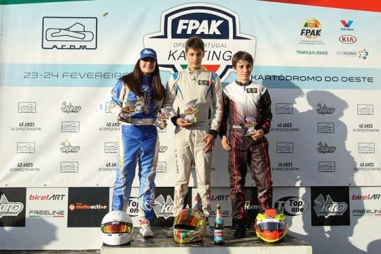 Título no Open de Portugal para Guilherme de Oliveira na X30 Sénior