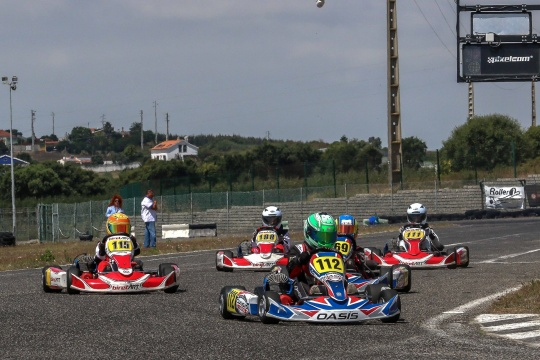 João Sengo domina categoria EK 100 na abertura do Troféu Easykart Portugal