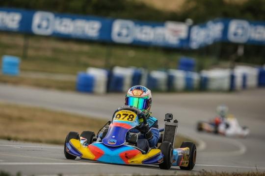 Maria Germano Neto garante em Itália a 13.ª posição no Europeu de Karting Iame